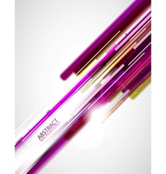 abstract purple lines background vector image