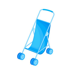 Bacarriage or stroller for newborn vector