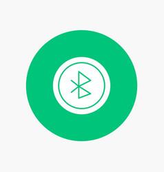 Bluetooth ui user interface vector