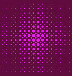 color abstractal halftone circle pattern vector image