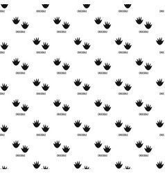 Crocodile step pattern seamless vector