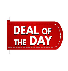Deal day banner design vector