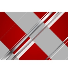 Minimal tech metallic corporate background vector image vector image