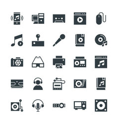 Multimedia Cool Icons 5 vector