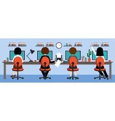 Office life vector image