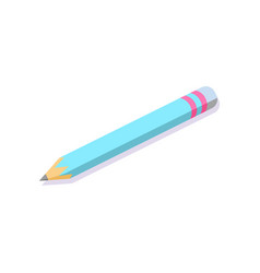 pencil to write down some information office vector image