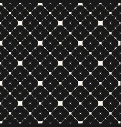Subtle geometric seamless pattern with thin vector