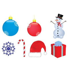 Christmas clip-art vector image vector image