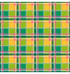 Yellow Green Pink Chessboard Background vector image vector image