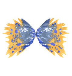 Butterfly two wings vector