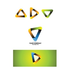 Company corporate business logo icon vector