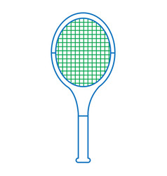 Tennis racquet icon image vector