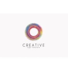 Creative logo Colorful logo geometric icon vector image vector image