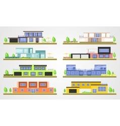 modern homes vector image