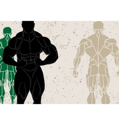 strong man vector image vector image