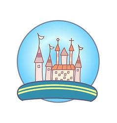 A crystal ball vector