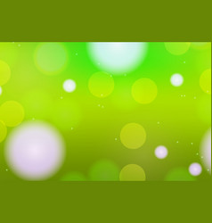 Background template design with green light vector