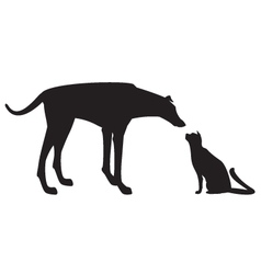 Cat et Dog vector image