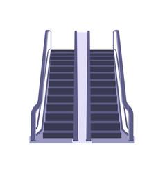 electric airport ladder escalator elevator vector image