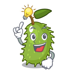 Have an idea fresh soursop fruit isolated on vector