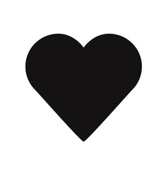 heart icon love symbol valentines day sign vector image