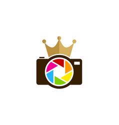lens king logo icon design vector image