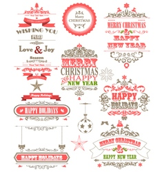 Ornament decoration background for holiday vector