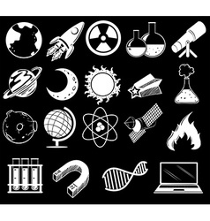 Science objects vector