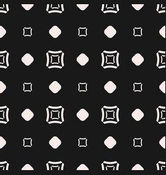Seamless pattern geometric texture with squares vector