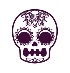 Skull for a religious holiday vector