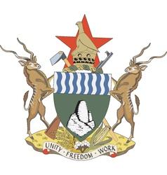 Republic of Zimbabwe vector image vector image