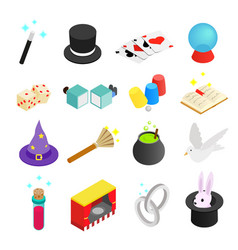 Magic isometric 3d icon vector image vector image