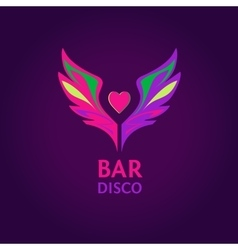 Night club disco beach party bar show vector image vector image