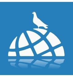 Symbol World Crisis vector image
