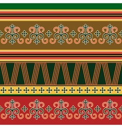 Traditional northern ornament vector image vector image