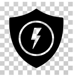 electric guard icon vector image