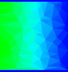 azure polygon background vector image