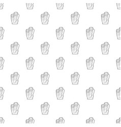 column coral pattern seamless vector image