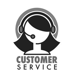 customer support service chat or virtual assistant vector image