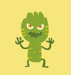 cute monster cartoon character 011 vector image