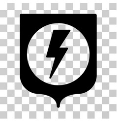 Electric protection icon vector