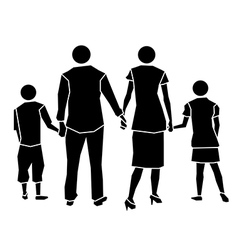 family icon concept vector image