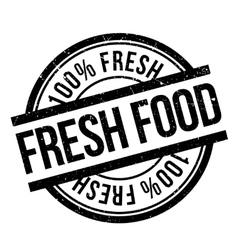 Fresh food stamp rubber grunge vector