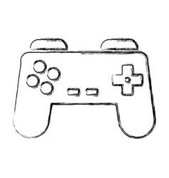 Gamepad videogame symbol vector