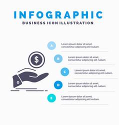 Help cash out debt finance loan infographics vector