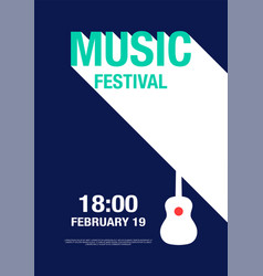 Music abstract modern poster concert vector