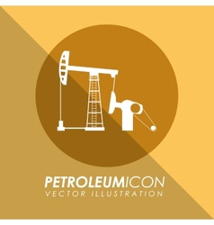 petroleum icon vector image