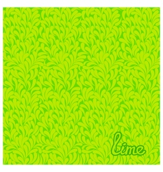 Lime abstract pattern vector
