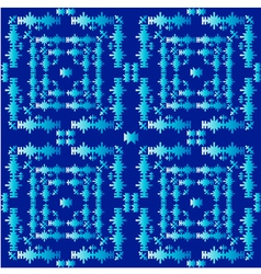 oriental style seamless pattern three vector image