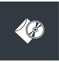 cd in package vector image